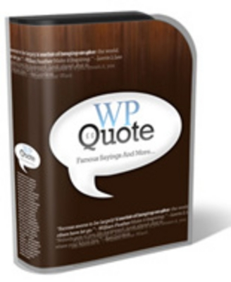 Product picture  WP Quotes -Comes with Resale Rights!